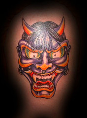"""Hannya Mask • <a style=""""font-size:0.8em;"""" href=""""http://www.flickr.com/photos/75536936@N03/8105546003/"""" target=""""_blank"""">View on Flickr</a>"""