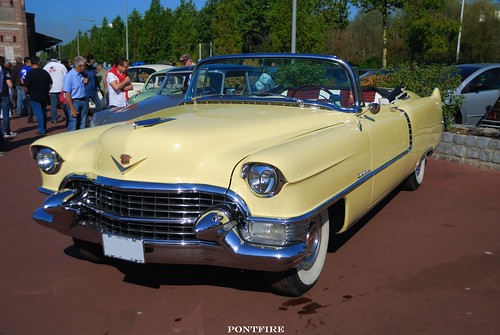 Cadillac 62S convertible coupe 1955