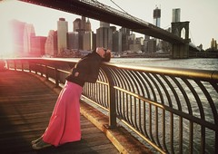 """Always Dreaming of You, Sweet New York"" (Sion Fullana) Tags: nyc bridge sunset portrait newyork brooklyn geometry retrato manhattan kristina dumbo portraiture brooklynbridge eastriver kris manhattanskyline melancholy sunsetlight allrightsreserved newyorkers newyorklife pinkdress melancholic freedomtower portraitsofwomen mobilephotography iphoneography iphoneographer sionfullana throughthelensofaniphone"