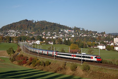 IC 711 @ Uzwil (Wesley van Drongelen) Tags: train ic zug sbb olma trein doubledecker intercity ffs cff re460 uzwil ic2000