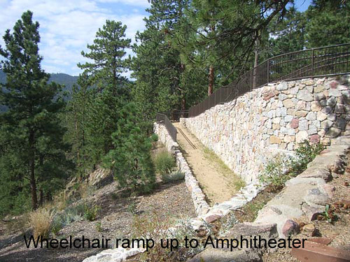Photo - Ramp leading to the Amphitheater