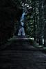 HardyC's Halloween Adventure (mendhak) Tags: trees england sunlight halloween geotagged unitedkingdom moonlight coffin chatsworth truestory underexposed chalice darkened darkroad gbr viewonblack hardyc geo:lat=5322849378 geo:lon=161095278