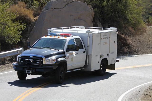 county truck losangeles malibu 5500 sheriff ram searchrescue