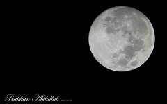 Just look !! (Rakkan Abdullah) Tags: moon oct 28