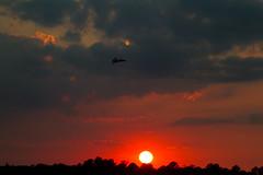 f-18-sunset. NAS Oceana (Stev