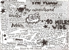 Escape The Fate (~Molly) Tags: escape flood drawing song 10 ashley wide fate miles draw disegni songs disegno the etf ranson apocalte