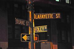 Lafayette ST (toltequita) Tags: nyc ny lafayette foley duane lafayettest
