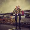 Portland Zombie Walk (LukeOlsen) Tags: rain hammer oregon portland zombie clown rainy undead zombiewalk portlandzombiewalk strobist 580exii lukeolsen pdxstrobist