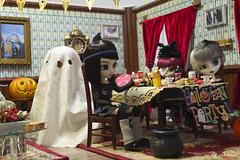 Happy Halloween!! (Mokurenmei) Tags: halloween groove pullip obitsu junplanning rewigged rechipped