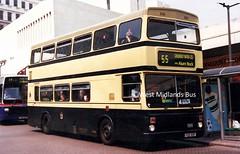 Washwood Heath (WH) 3050 F50 XOF (WMT2944) Tags: city travel west birmingham transport midlands metrobus f50 mcw xof 3050 mk2a