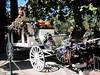 Haunted Mansion hearse (Sherry Schmidt) Tags: black halloween vintage skull disneyland disney spooky hearse jol
