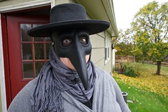Plague Doctor (this Public Address) Tags: krista