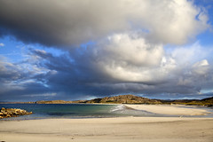Trigh na Beirigh (the44mantis) Tags: ocean sea sky cloud beach scotland sand tide lewis escocia explore reef uig hebrides schottland schotland ecosse scozia valtos traigh cnip bhaltos kneep berie riof beirigh beirgh