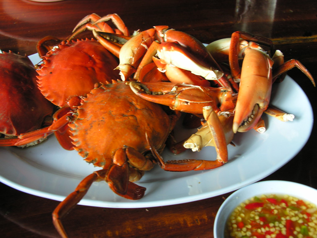 Crab again! Chanthaburi, Thailand