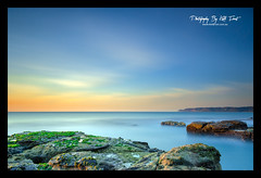 Another 10 Minutes (Kiall Frost) Tags: ocean longexposure blue sky sun seascape colour beach water sunrise landscape nikon australia le nsw burwood d7000 bigstopper kiallfrost