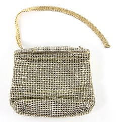 L16. Exquisite Rhinestone Evening Bag, Austrian