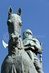 Robert the Bruce statue, Bannockburn (dkjphoto) Tags: historic independence monument freedom struggle war revolution battle memorial statue knight battlefield horse park europe uk unitedkingdom scotland stirling bannockburn robertthebruce english scottish 1314 denniskjohnson dkjphoto