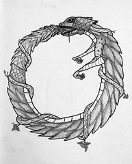Ouroborus (ETt_) Tags: life nature monster death cycle oroboros ouroborus oroborus