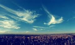 a look at the streets (leandrosillva) Tags: sol azul brasil cores pessoas cu vermelho amarelo mulheres pontes paisagens bh ruas urbanas cidades predios viadutos caladas mulhere