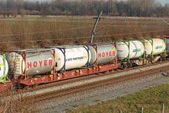 Sggnss - Containerwagon 4-assig, 80ft - Haaften - 20130112 (Cees Cargo Wagons) Tags: praag goederen 80ft haaften metrans containerwagens sggrrs