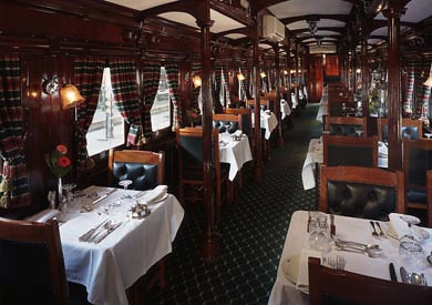 Rovos Rail from the Luxury Train Club - Restaurant