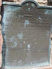 Royal Gorge Sign (Patricia Henschen) Tags: canoncitycolorado royalgorge usroute50
