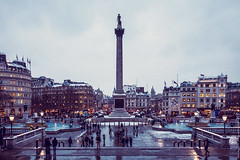 Trafalgar Square (EricP2x) Tags: old city uk longexposure greatbritain travel winter urban panorama snow building london art tourism beautiful westminster skyline architecture publicspace buildings square evening europe cityscape nightlights view traffic unitedkingdom famous capital towers victorian streetphotography trafalgar trafalgarsquare bigben grand nelson tourists historic explore londres canon5d bluehour ornate monuments canondslr iconic citysquare whitehall europeanunion nelsonscolumn cityskyline urbanlandscape victorianarchitecture slowshutterspeed urbanphotography londonskyline londonnight charlesbarry urbanspace urbanity londonatnight canoncamera beautifulbuilding canonef28135mmf3556isusm canoneos5d urbanlights londonsnow explored urbansquare architecturalstyle londonphoto londonbluehour ericp2xmarchportfolio