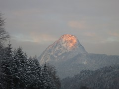 first kiss (koaxial) Tags: winter mountain snow cold ice berg sunrise canon austria sterreich powershot sonnenaufgang kufstein s100 pendling canonpowershots100 koaxial img0215a vigilantphotographersunite vpu2