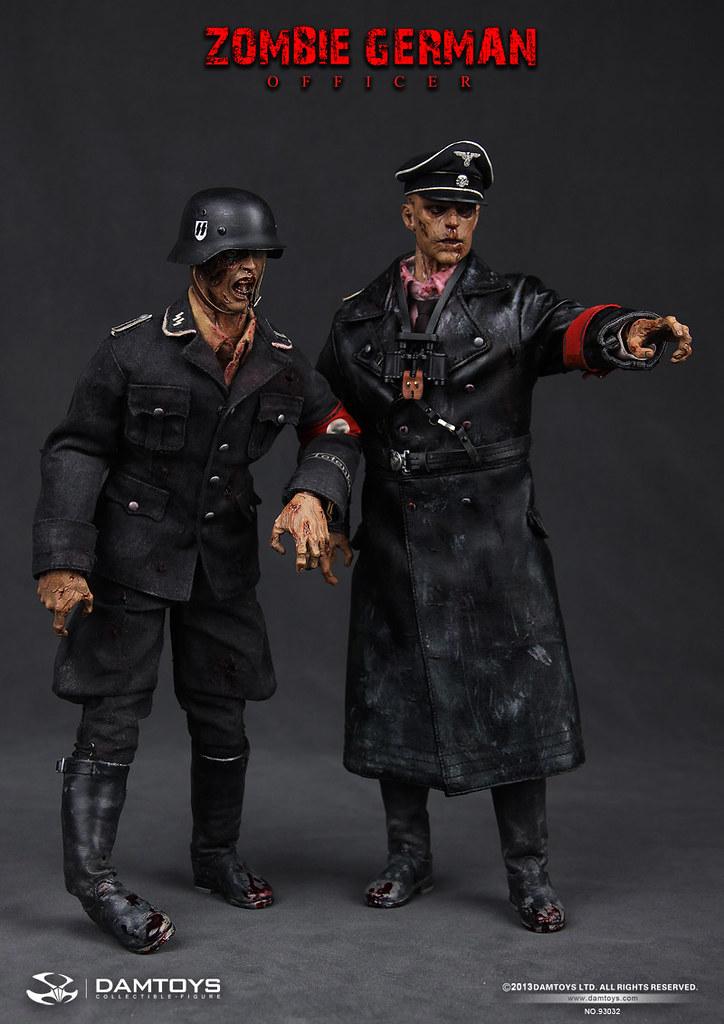 Dam Toys - 1/6 德軍軍官殭屍