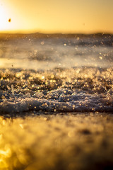 bokeh anyone? (laatideon) Tags: sea beach sunrise 50mm surf f18 etcetc laatideon deonlategan illcatchuponeveryonesphotosshortly