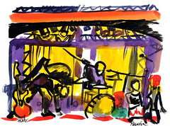 15h45-Ericnemo (Frederic Malenfer) Tags: rock fan folk lumire dessin micro backstage groupies batterie guitare carnet rptition scne fredericmalenfer ericnemo