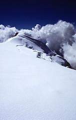 Top of Adams Glacier (fotostevia) Tags: glaciers mtadams kodachrome64 adamsglacier ricohxr7