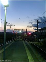 Rikuzen-Ono Station (richfowler) Tags: japan platform trains trainstation      miyagiprefecture  rikuzenono rikuzenonostation