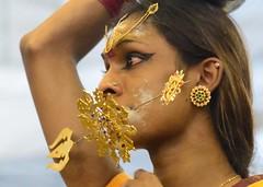 Kavadis (pranav_seth) Tags: festival gold pain eyes singapore religion piercing spike mascara spirituality littleindia hindu gaze spikes tamil thaipusam kavadi cleansing srisrinivasaperumaltemple perumaltemple thaipusam2013
