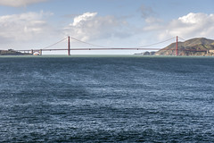 Prison View (PhiiiiiiiL) Tags: sf bridge blue sea sun clouds golden bay nikon gate san francisco meer wolken prison area alcatraz blau brcke sonne gefngnis d800e