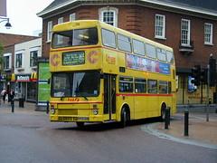 First Capital MCW Metrobus 170 (E470 SON), Romford 24/05/2000 (Matthew Wharmby) Tags: capital first 170 metrobus dagenham mcw romford 165 e470son