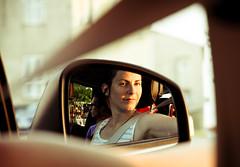In the mirror [Explored] (_Franck Michel_) Tags: reflection car mirror voiture explore reflet retroviseur explored mygearandme