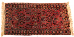 71.  Persian Sarouk Area Rug