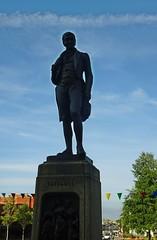 Oor Robert (Bricheno) Tags: paisley abbey paisleyabbey statue roberttannahill tannahill bricheno scotland escocia schottland cosse scozia esccia szkocja scoia