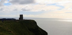 Cliffs of Moher 1 (Adrien Duchtel) Tags: ireland moher cliffsofmoher cliffs falaise sky couchdesoleil ciel nuage pierre tour
