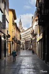 Vilafranca del Peneds (Gatodidi) Tags: vilafranca del peneds calles people street iglesia vijazz gente tarragona catalunya catalua atardecer nikon d90