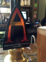 Have you had one? (RoystonVasey) Tags: apple iphone 5 west yorkshire beer real ale pint glass alechemy bad day office