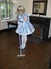 CIMG6785 (sissybarbie1066) Tags: baby satin sissy maid uniform blue sweeping entrance hall sissymaid