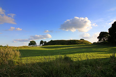 Old Sarum Views (Crisp-13) Tags: old sarum salisbury wiltshire wide angle blue sky field fields cloud castle