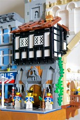 Guards (mcmorran) Tags: lego bridge constantinebridge modularbuildings tudor guards