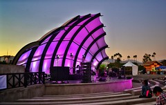 """Teatro al aire libre """"La concha"""" (fernandez1594) Tags: estructura purple colores theater mexico ensenada concha msica teatro"""