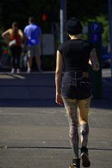 Tattoos (swong95765) Tags: tattoo tattoos woman female lady shorts pretty hot awesome ink