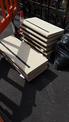 New steps for Stepney Green court -  Courtyard area (Carol B London) Tags: sgc ids stepneygreencourt e1 stepneygreen londone1 steps concretesteps concrete stepney improvementworks newsteps