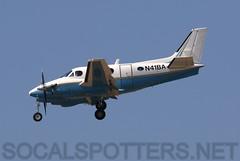 N41BA (SoCalSpotters) Tags: n41ba be9l kingair socalspotters klax lax stjonaircraft beechcraft beechcraftkingair90 be90 losangeles