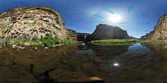 Palouse Falls 360 (VanGorkum Photography) Tags: vr 360 pano panorama waterfall water summer palouse wa washington 2016 pnw